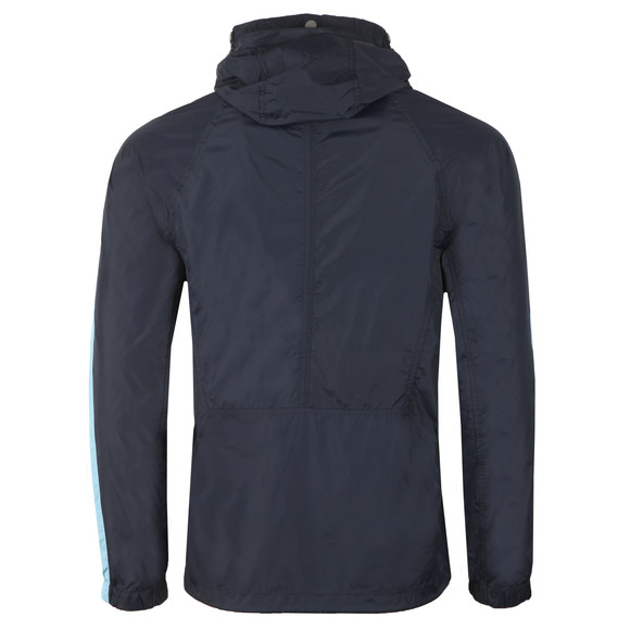 Pretty Green Mens Blue Overhead Hooded Jacket main image