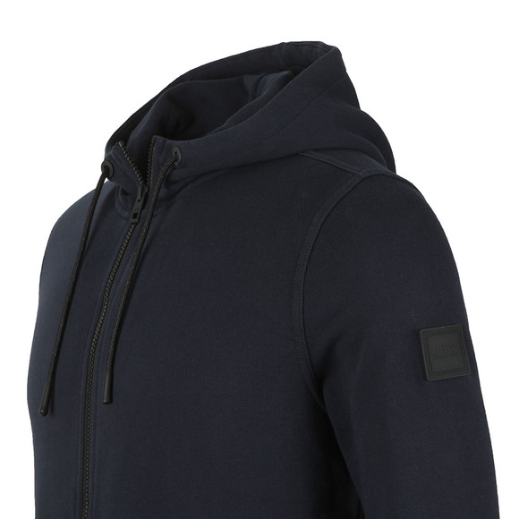 BOSS Mens Blue Casual Zounds Hoody main image