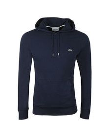 Lacoste Mens Blue L/S Hooded Top