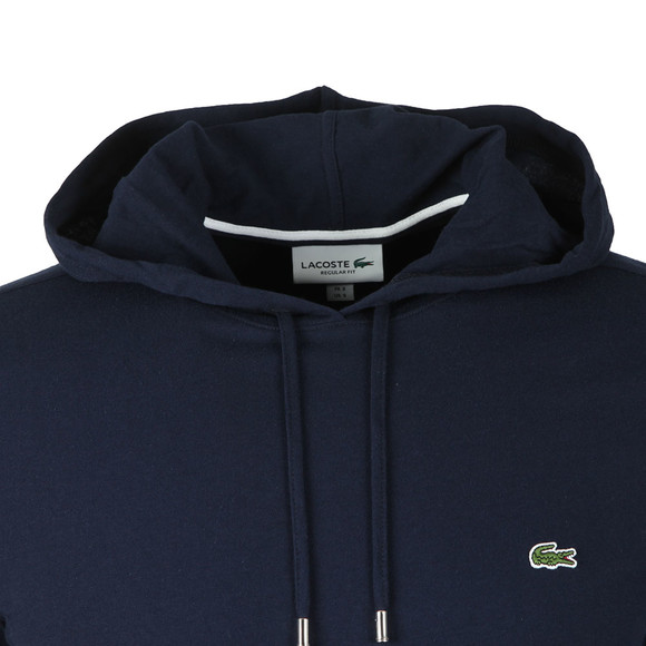 Lacoste Mens Blue L/S Hooded Top main image