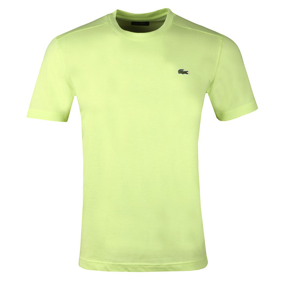 Lacoste Sport Mens Yellow TH7618 Plain T-Shirt