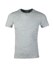 Lacoste Sport Mens Grey TH3492 Tee