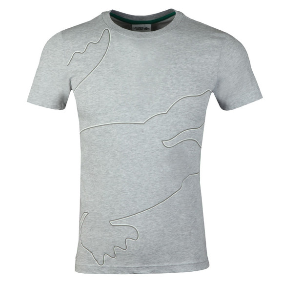 Lacoste Sport Mens Grey TH3492 Tee main image