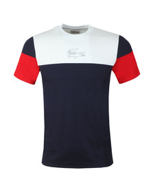Lacoste Sport Mens Blue TH3421 Tee