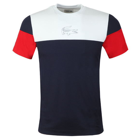 Lacoste Sport Mens Blue TH3421 Tee main image