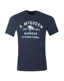 Barbour Int. Steve McQueen Mens Blue Boon Tee