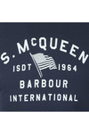 Barbour Int. Steve McQueen Mens Blue Boon T-Shirt
