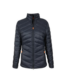 Barbour Lifestyle Womens Blue Longshore Quilted Jacket