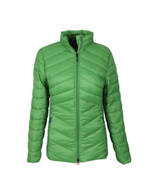 Barbour Lifestyle Womens Green Longshore Quilted Jacket