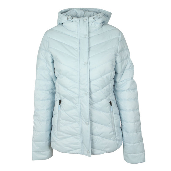 Barbour Lifestyle Womens Blue Isobath Quilted Jacket