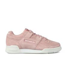 Reebok Classic Womens Pink Workout Lo Plus