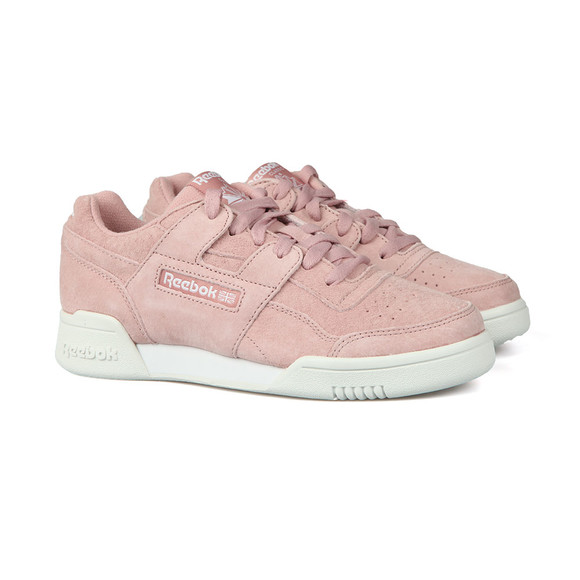 Reebok Womens Pink Workout Lo Plus main image