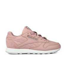 Reebok Womens Pink Leather Trainer
