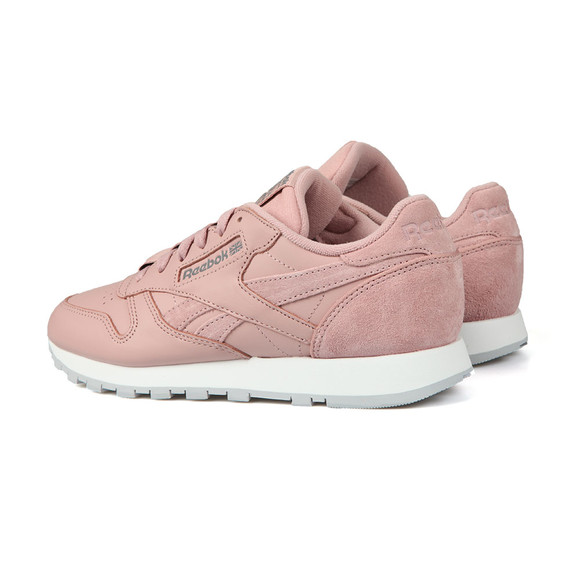 Reebok Womens Pink Leather Trainer main image