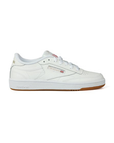 Reebok Womens White Club C 85 Trainer