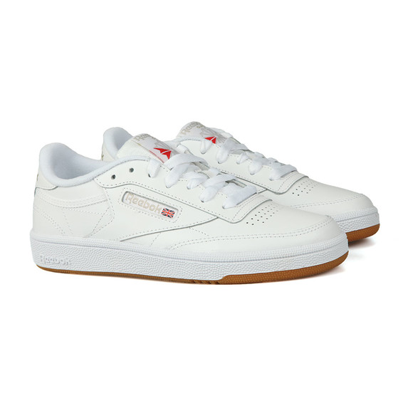 Reebok Womens White Club C 85 Trainer main image