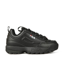 Fila Womens Black Disruptor II  Premium Trainer
