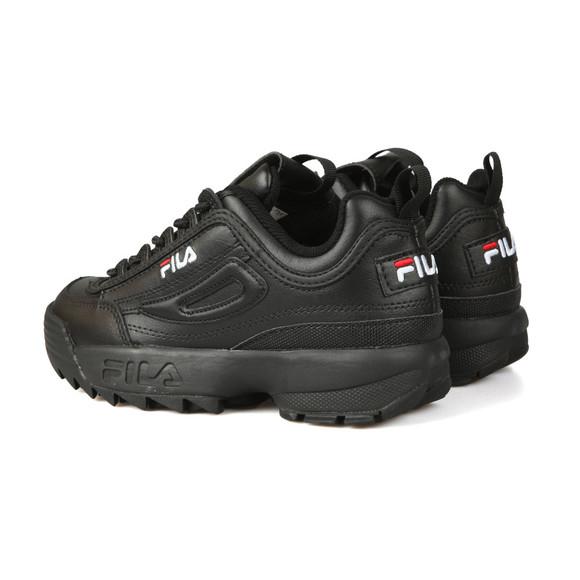 Fila Womens Black Disruptor II  Premium Trainer main image