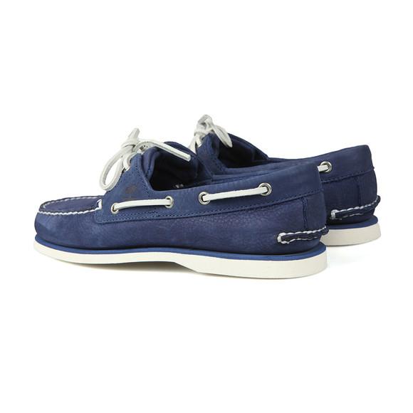 Timberland Mens Blue Nubuck Boat Shoe main image