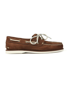 Timberland Mens Brown Nubuck Boat Shoe