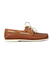 Timberland Mens Brown 2 Eye Boat Shoe