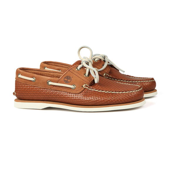 Timberland Mens Brown 2 Eye Boat Shoe main image
