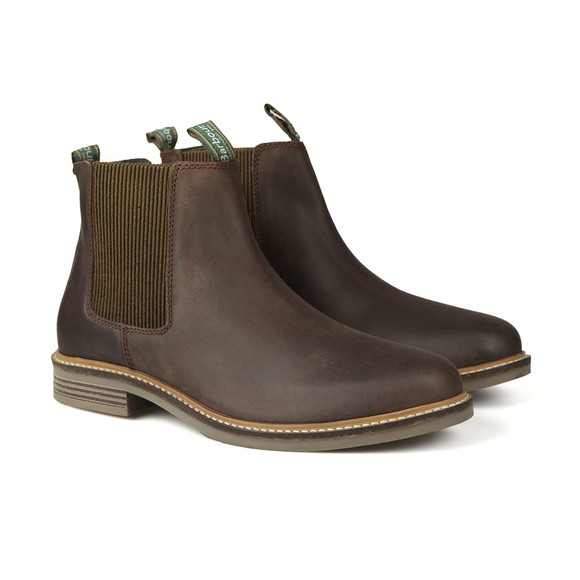 Barbour Lifestyle Mens Brown Farsley Chelsea Boot