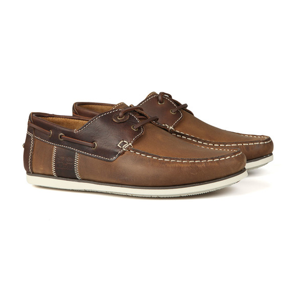 Barbour Lifestyle Mens Brown Capstan Shoe main image