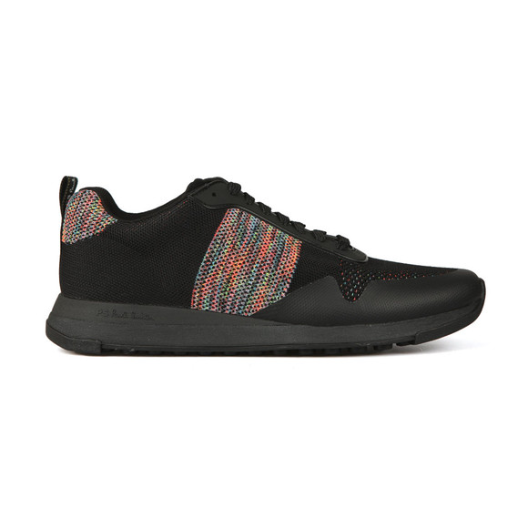 PS Paul Smith Mens Black Rappid Knitted Trainer