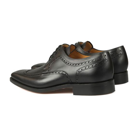 Barker Mens Black Larry Shoe main image