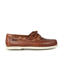 G H Bass & Co Mens Brown Jetty Boat Shoe