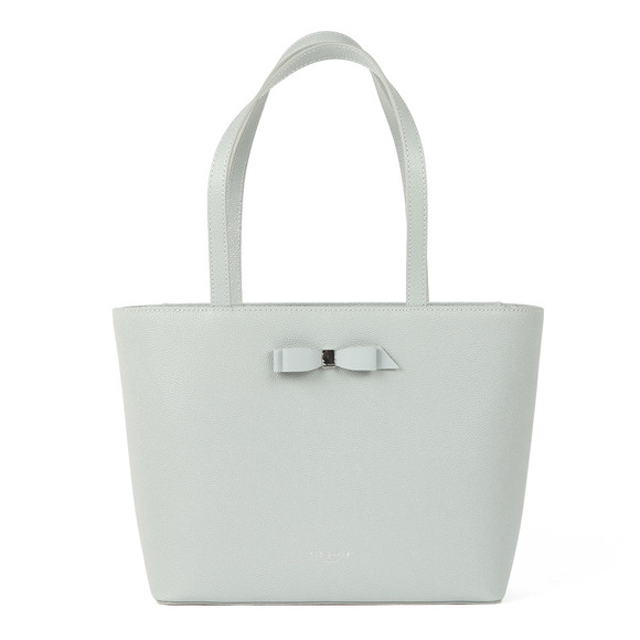 Ted Baker Womens Grey Jjesica Bow Detail Shopper main image