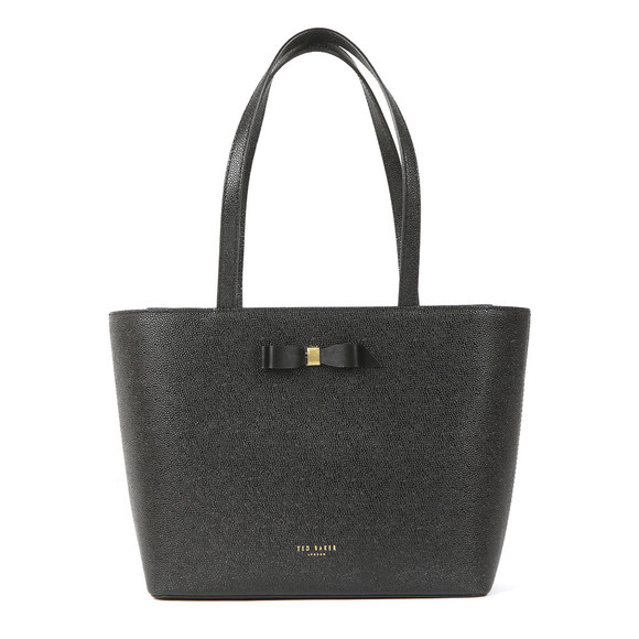 Ted Baker Womens Black Jjesica Bow Detail Shopper main image