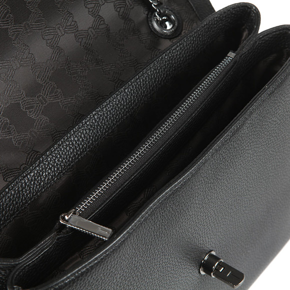 Ted Baker Womens Black Shillah Circle Lock Shoulder Bag main image