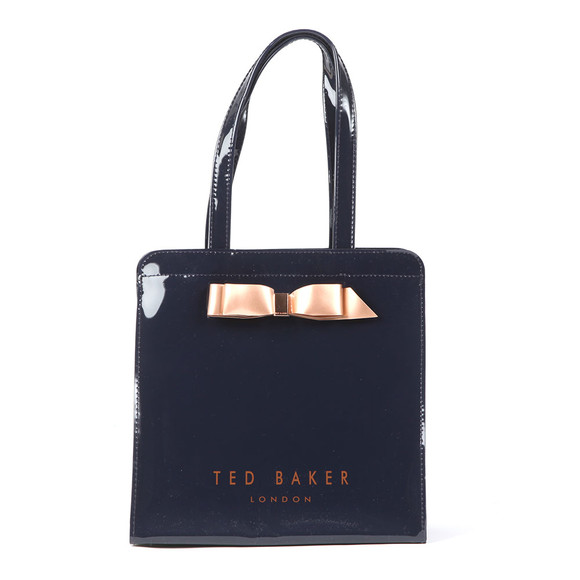 03144e883531 Ted Baker Womens Blue Almacon Bow Detail Large Icon Bag main image