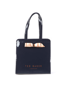 Ted Baker Womens Blue Arycon Bow Detail Small Icon Bag