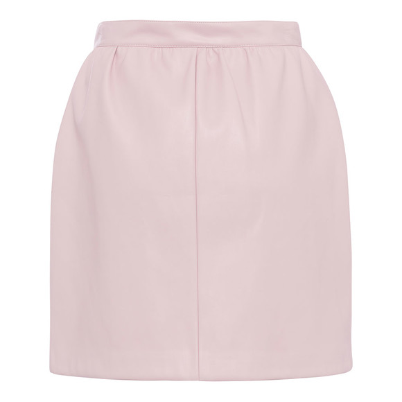 French Connection Womens Pink BIA Pu Mini Skirt