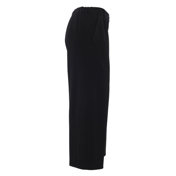 French Connection Womens Black Angeline Drape Wide Leg Trouser main image