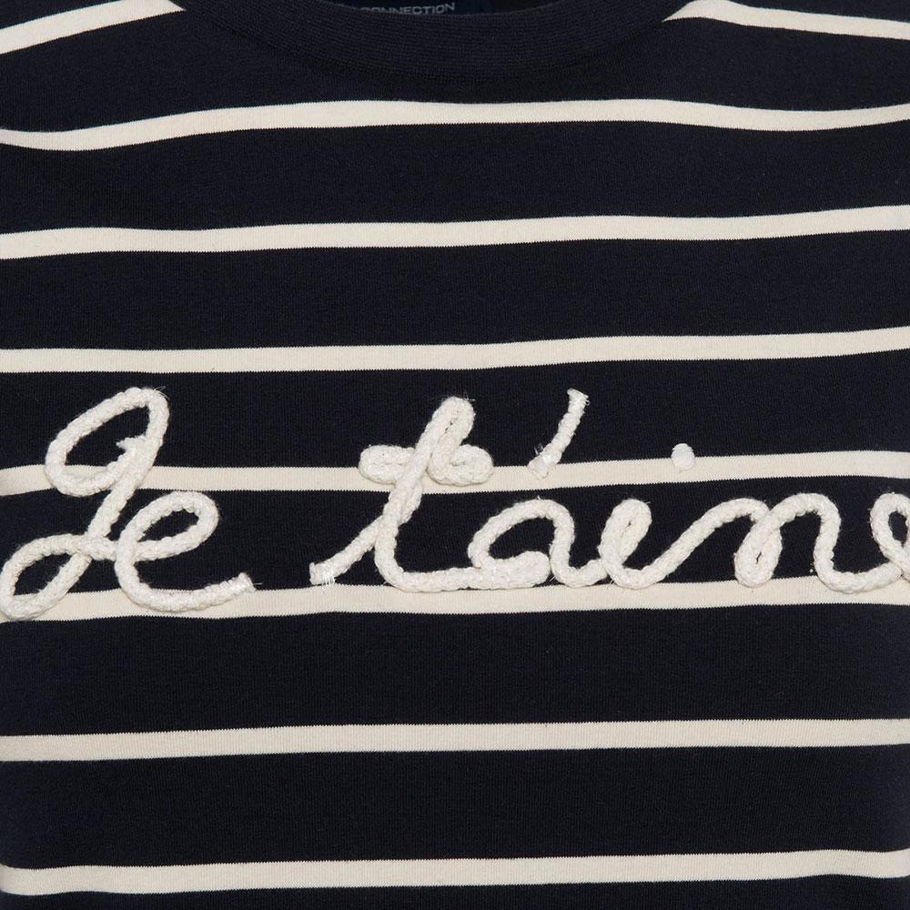 Tim Tim Francais Rope Slogan T-Shirt main image