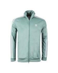 adidas Originals Mens Green Beckenbauer Track Jacket