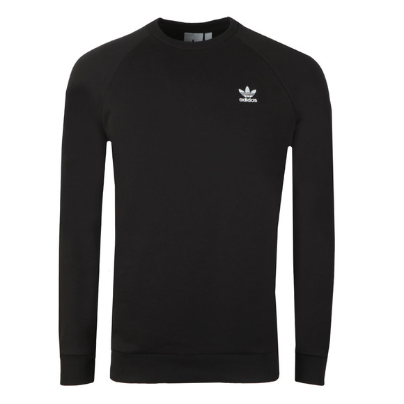 adidas Originals Mens Black Essential Crew Sweat main image