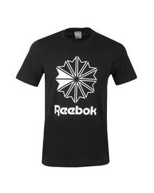 Reebok Classic Mens Black F GR Tee