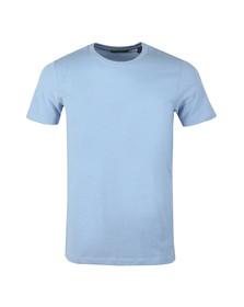 Scotch & Soda Mens Blue Crew Neck T-Shirt