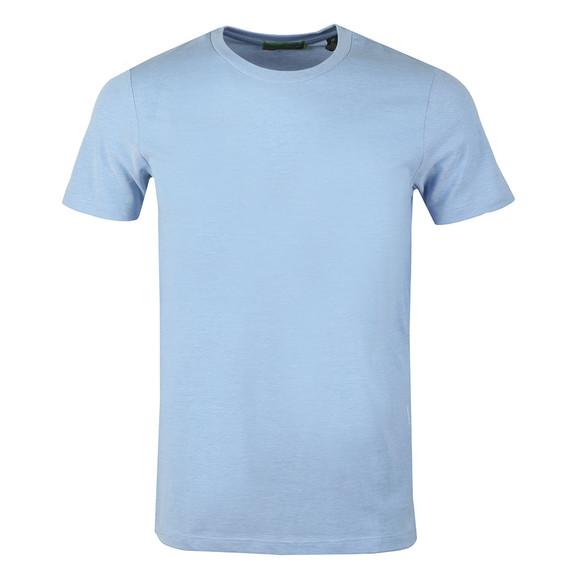 Scotch & Soda Mens Blue Crew Neck T-Shirt main image