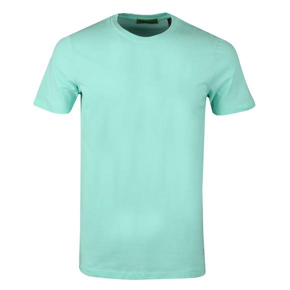 Scotch & Soda Mens Green Crew Neck T-Shirt main image
