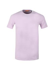 Scotch & Soda Mens Purple Crew Neck T-Shirt