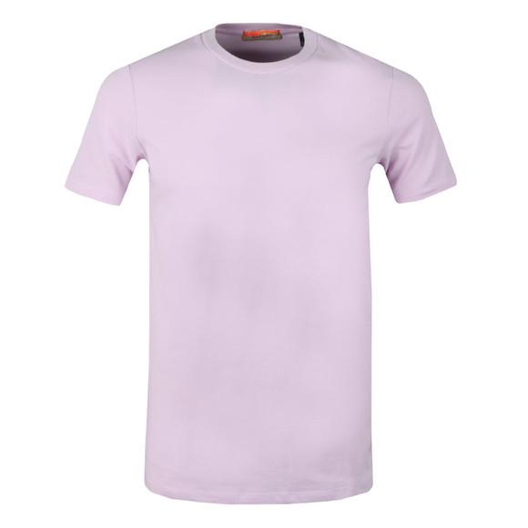 Scotch & Soda Mens Purple Crew Neck T-Shirt main image