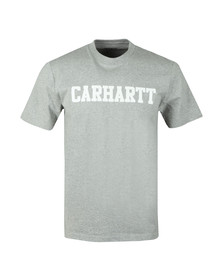 Carhartt WIP Mens Grey Carhartt College Crew T-Shirt