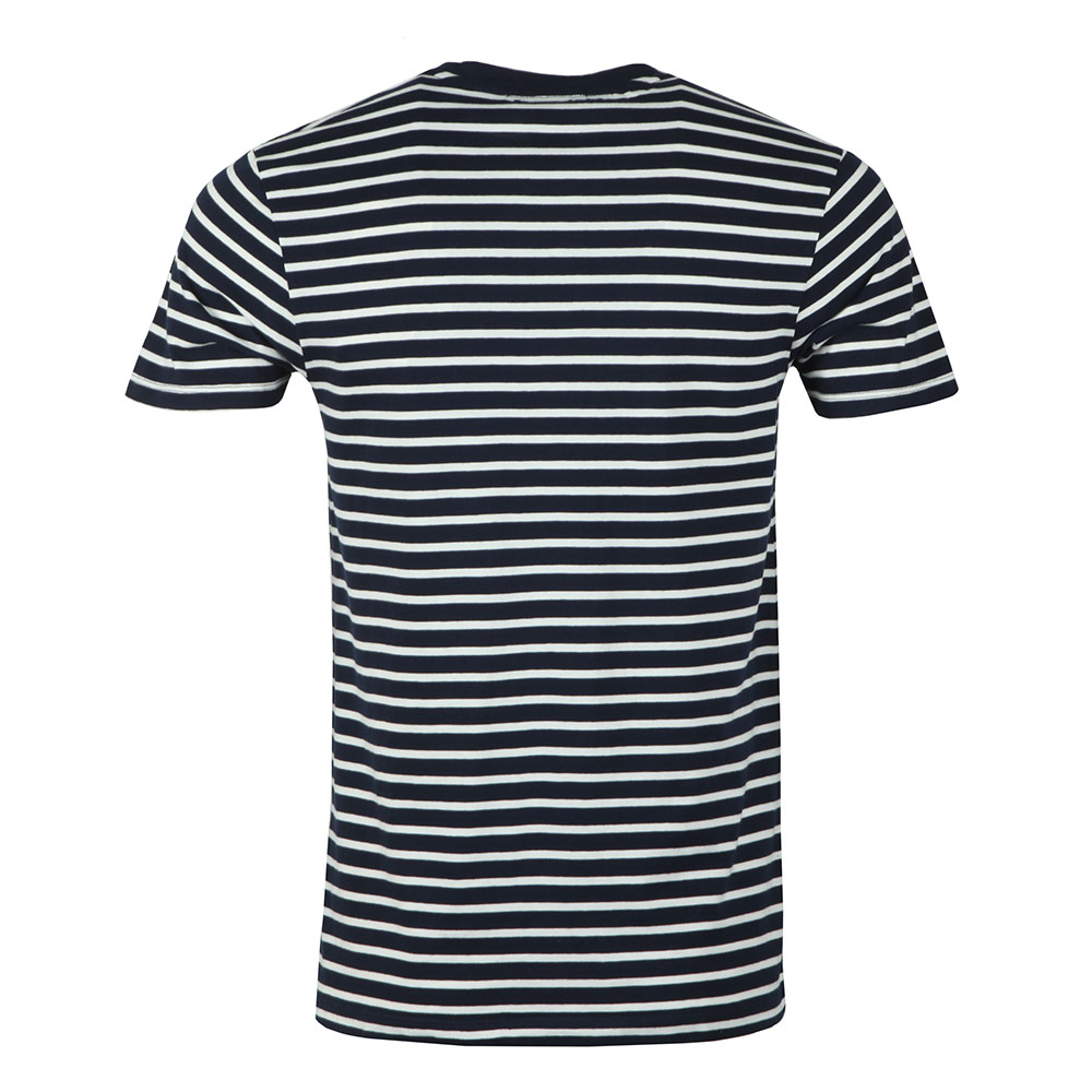 Crew Neck Striped T Shirt main image