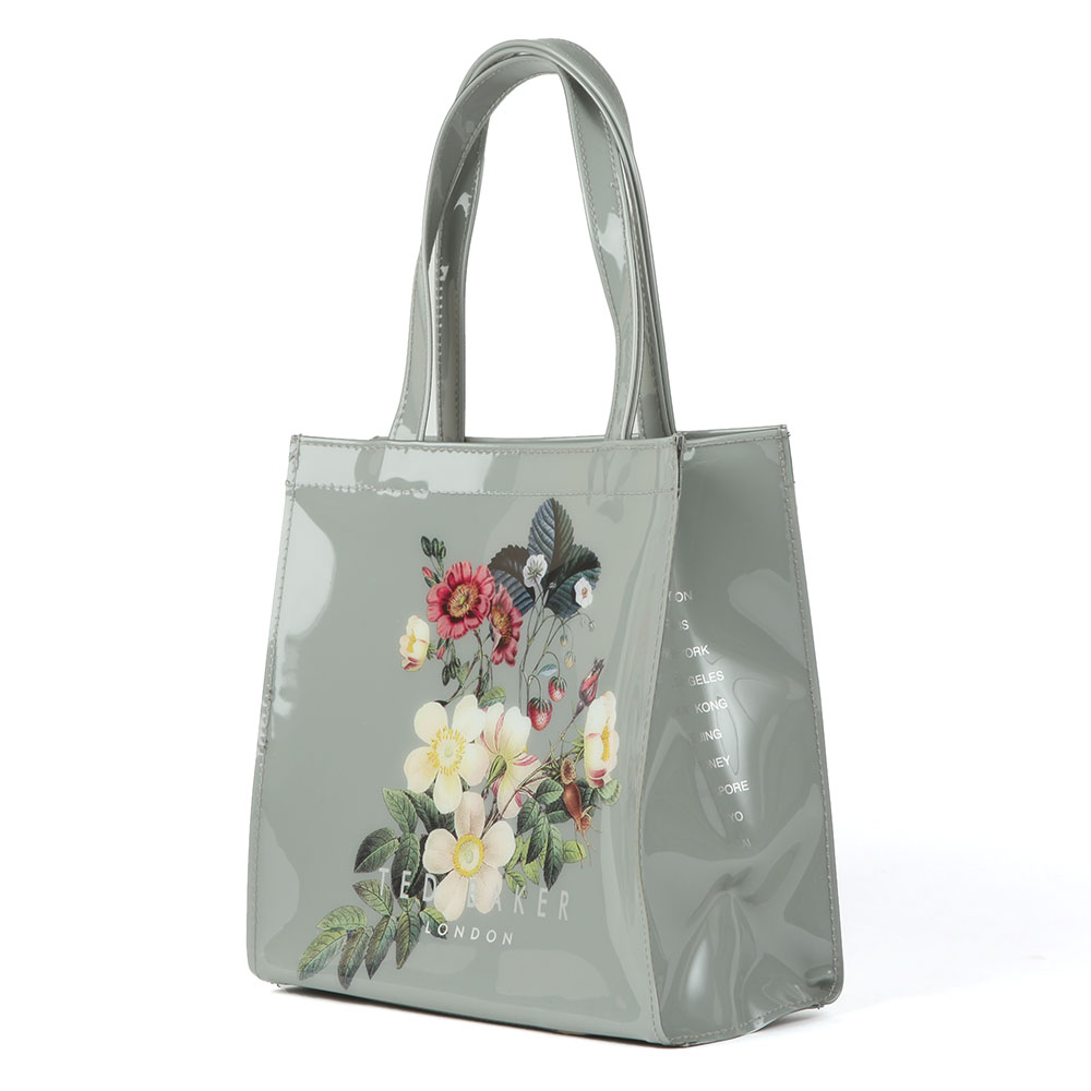 dad58d0fe9ba31 Ted Baker Womens Grey Vivicon Oracle Large Icon Bag main image. Loading zoom